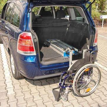 Rollstuhlverladesysteme Heckbereich
